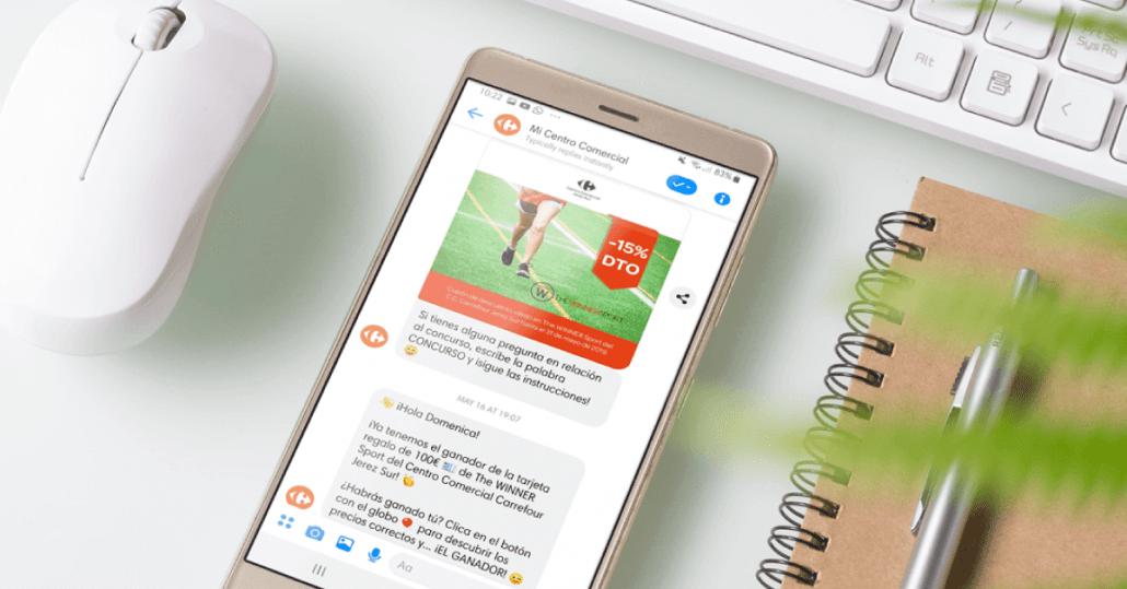 chatbot juego precio es correcto messenger